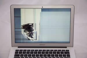 13 inch mac book air cracked