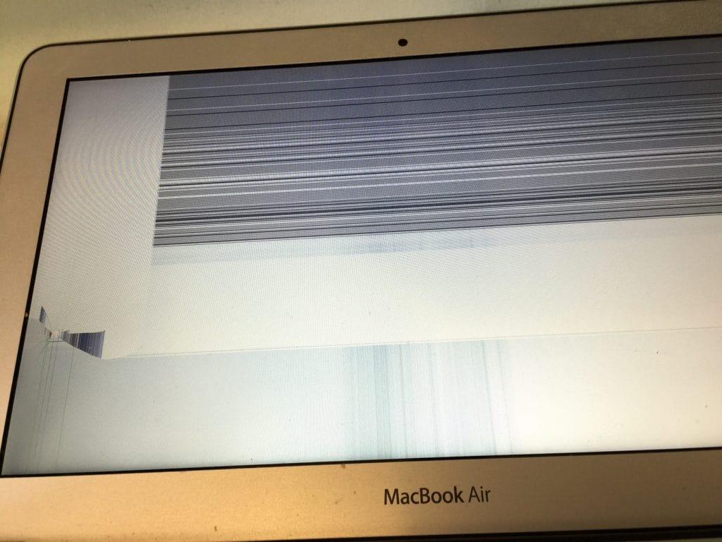 MacBook Air Cracked
