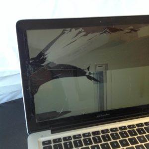 MacBook Pro Cracked Screen