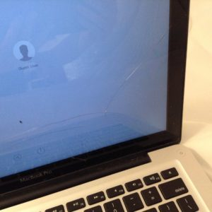 MacBook Pro a1278 broken glass