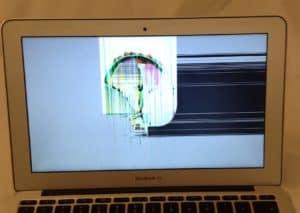 MacBook Air Hit on Screen