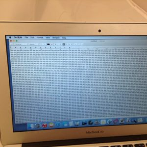 MacBook Air with LCD Blemish