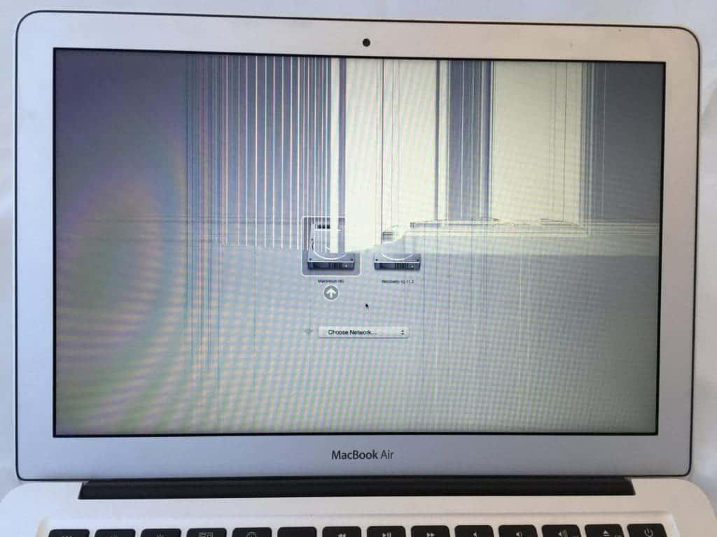 13 inch MacBook Air Broken LCD