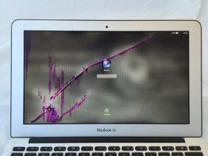 11inch Air Broken LCD