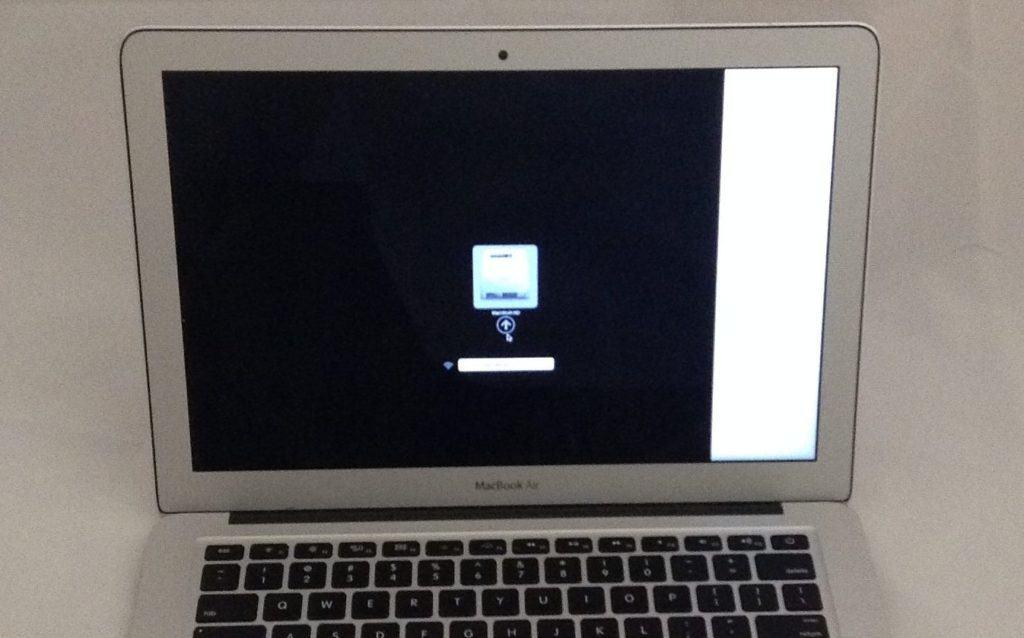 Broken LCD on MacBook Air 13 Inch