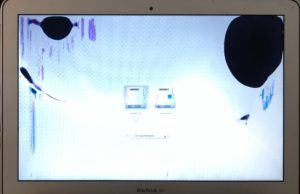 Broken MacBook Air Screen
