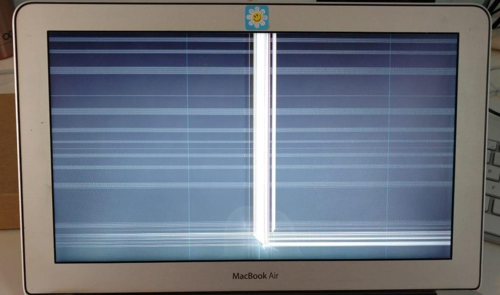Broken Screen MacBook Air