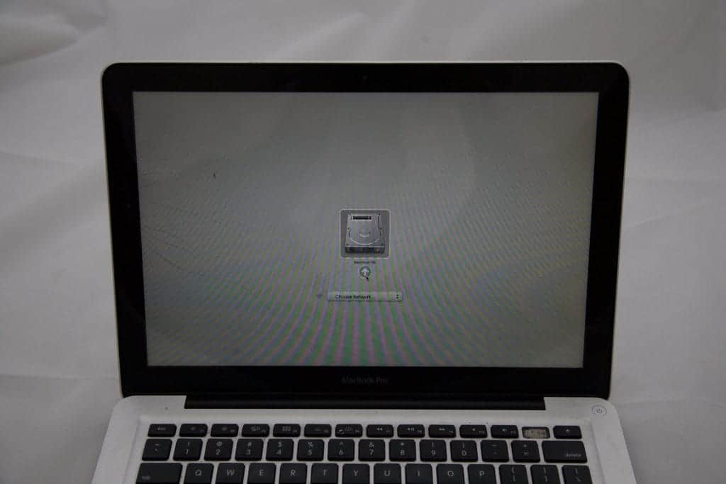 MacBook Screen with cracked glass but good LCD Panel