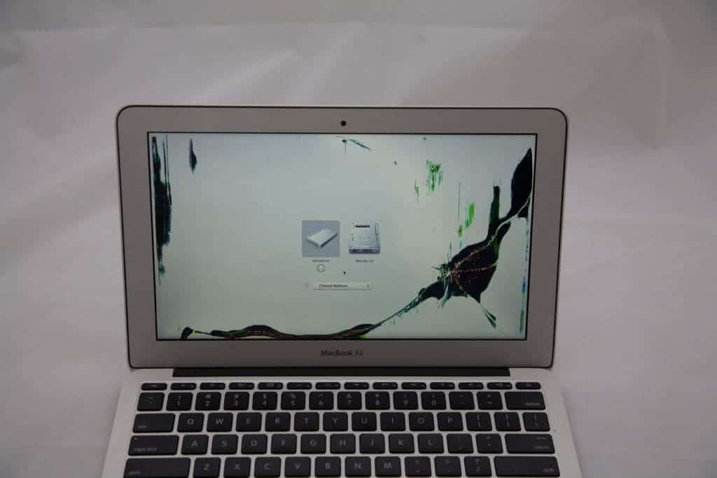 MacBook with bad LCD panel