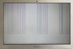 MacBook Air with bad LCD panel